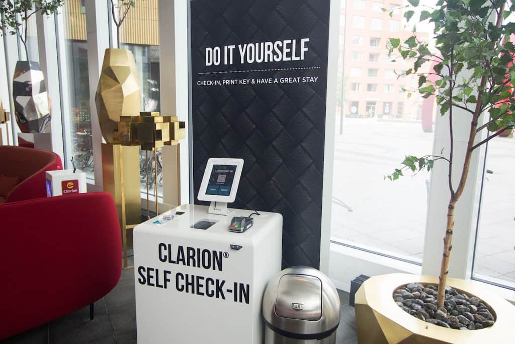 Clarion self check-in